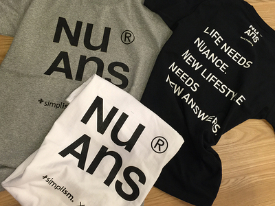 "<b style=""background-color:yellow;"">NuAns</b> Tシャツ"