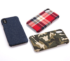 [NUNO] Fabric Case for iPhone X