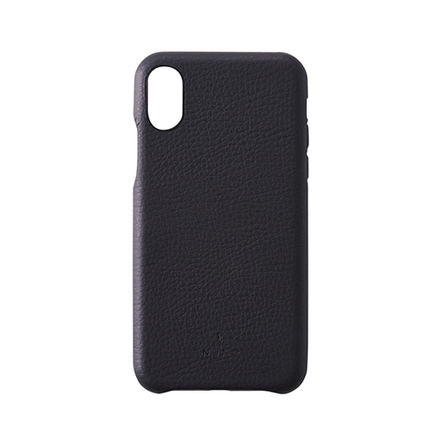 [NUNO] Clarino Back Case for iPhone X Shrink Black