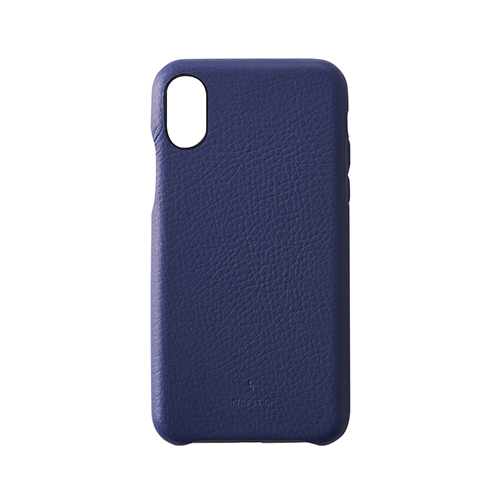 [NUNO] Clarino Back Case for iPhone X Space Shrink Navy