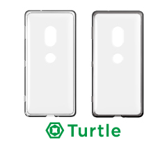 [Turtle] Hybrid Clear Case for Xperia XZ2