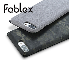"[<b style=""background-color:yellow;"">Fablex</b>] Shock Absorbing Fabric Case for <b style=""background-color:yellow;"">iPhone</b> 7 Plus"