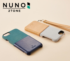 [NUNO] Fabric Case Twotone for iPhone 7/6s/6(4.7インチ)