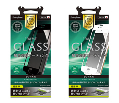 Frame Glass for iPhone 7/6s/6(4.7インチ)Crystal Clear