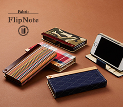 [FlipNote] Flip Note Case for iPhone SE/5s/5 (Fabric)