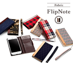 [FlipNote] Flip Note Case for iPhone 6s (Fabric)