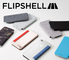 [FlipShell] Clear Back Flip Note Case for iPhone 7/6s/6(4.7インチ)