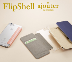 [FlipShell] ajouter Back Clear Flip Note Case for iPhone 7/6s/6(4.7インチ)