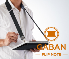 [GABAN FlipNote] Shock Absorbing FlipNote Case for iPad