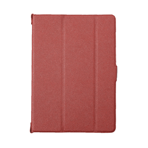 iPad 6th/5th [FlipNote Slim] Smart FlipNote Case Texture Red