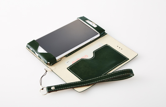 Thin Flip Case with Card Pocket for iPhone 6