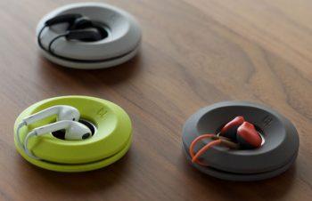 【新製品ニュース】シリコン製のイヤホンコード巻き取りホルダー「Bluelounge Cableyoyo」(10周年記念リニューアル版)