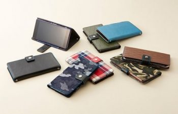 トリニティ、左右両開きに対応した手帳型スマートフォンケース「Simplism ジャーナルフリー・マルチサイズケース」を発売