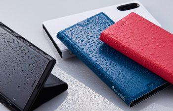 [FlipNote Aqua] Water-resistant フリップノートケース for XperiaXZ/XZs(販売終了)
