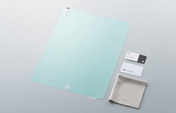 Bubble-less & Anti-Fingerprint Film for iPad 2 Crystal Clear