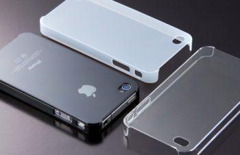 クリスタルカバーセット for iPhone 4