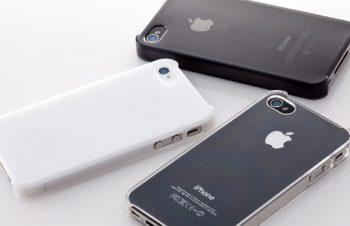 クリスタルカバーセット for iPhone 4S