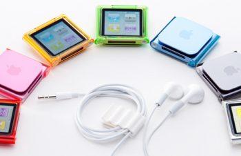 クリスタルカバーセット for iPod nano (6th)