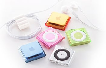 Crystal Cover Set for iPod shuffle (4th)