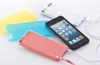 クリスタルカバーセット for iPod touch (5th)
