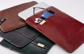 Eco Leather Book Sleeve Air