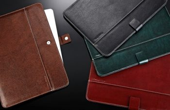 Eco Leather Sleeve with Pocket for iPad Air 2