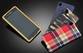 Fablex Fabric Latex Case for Xperia Z4