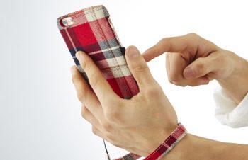 ファブリックケース with カードポケット for iPhone 6 Plus(5.5inch)
