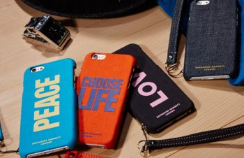 KATHARINE HAMNETT LONDON カードポケット ケース for iPhone 6(4.7inch)(販売終了)