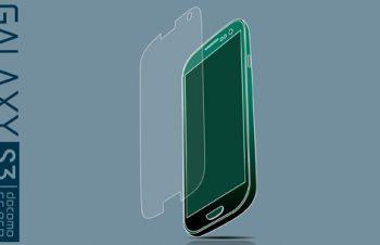 液晶保護フィルムセット for Galaxy S3 α 反射防止