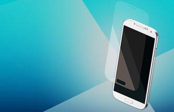 ブルーライトカット&バブルレス フィルムセット for Galaxy S4 High-gloss