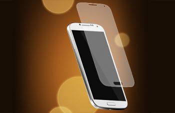 バブルレス フィルムセット for Galaxy S4 反射防止