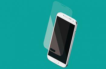 液晶保護フィルムセット for Galaxy S4 光沢