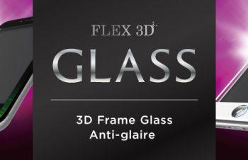 [FLEX 3D] 3D フレームガラス for iPhone 7(4.7インチ)反射防止