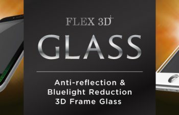 [FLEX 3D] Anti-reflection & Bluelight Reduction 3D Frame Glass for iPhone 7(4.7インチ)