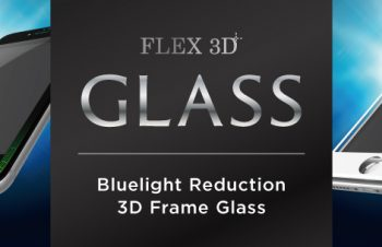 [FLEX 3D] Bluelight Reduction 3D Frame Glass for iPhone 7 Plus(5.5インチ)(販売終了)