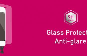 ガラスプロテクター for iPhone SE/5s/5c/5 反射防止(販売終了)