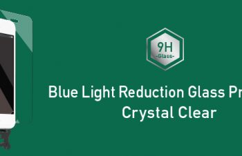Blue Light Reduction Glass Protector for iPhone SE/5s/5c/5 Crystal Clear