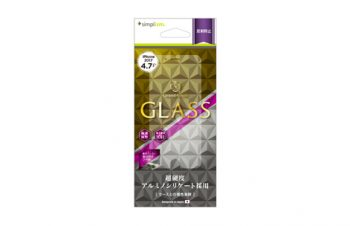 Alumino-silicate Glass Protector for iPhone 8(Anti-glare)
