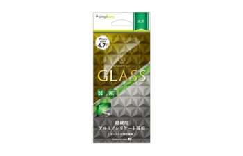 Alumino-silicate Glass Protector for iPhone 8(Crystal Clear)