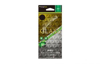 アルミノシリケートガラスプロテクター for iPhone X(光沢)