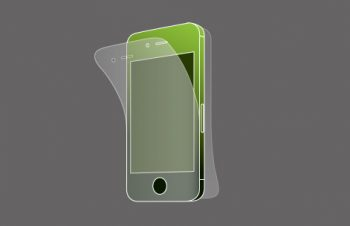 Protector Film Set for iPhone 4S Anti-glare
