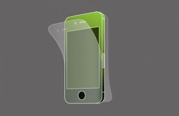 液晶保護フィルムセット for iPhone 4S 反射防止