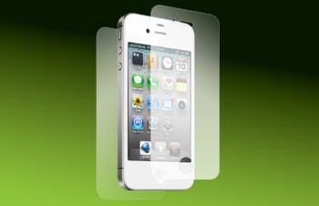 Bubble-less Film Set for iPhone 4S Anti-glare