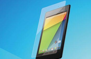 ブルーライト低減&バブルレス フィルムセット for Nexus 7