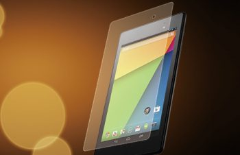 バブルレス フィルムセット for Nexus 7 反射防止