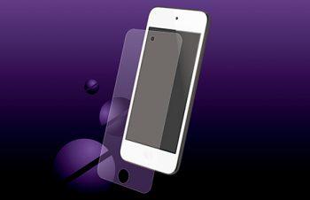 バブルレス フィルムセット for iPod touch (5th) 反射防止