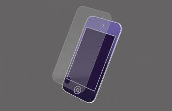 液晶保護フィルムセット for iPod touch (4th) 反射防止 2011