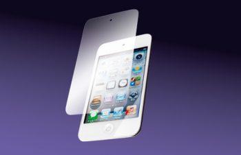 バブルレス フィルムセット for iPod touch (4th) 反射防止 2011