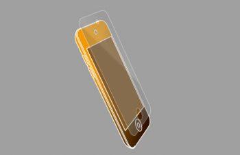 液晶保護フィルムセット for iPod touch (4th) 光沢 2011